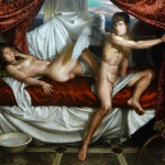 Aubade Eros Leaves the Sleeping Psyche Until Night Returns by Kendric Tonn