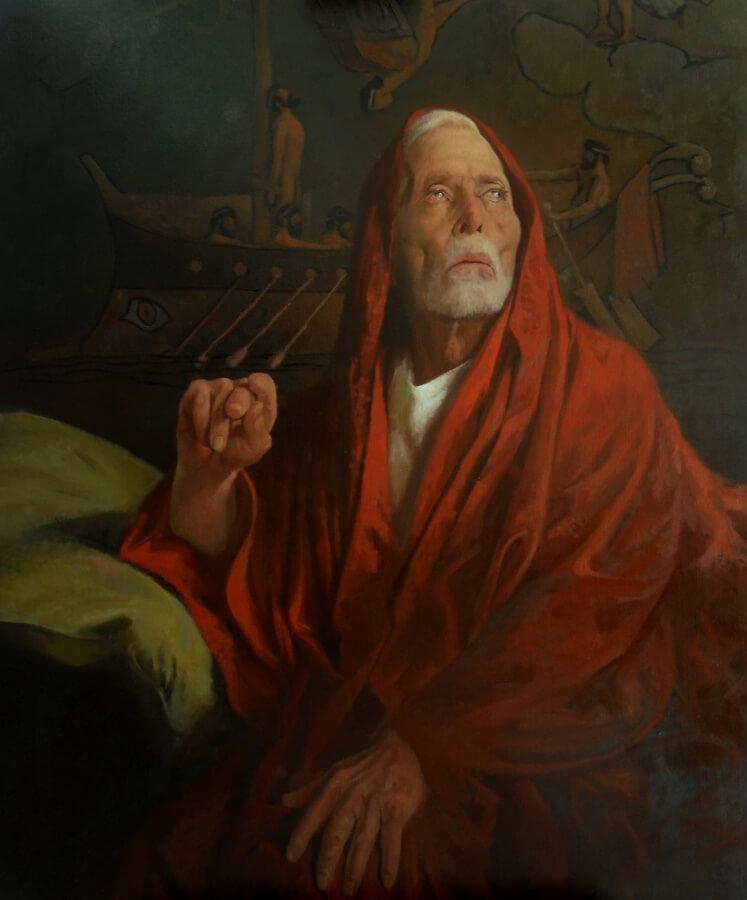 Homer's vision by Antonio Mañon