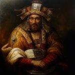 Oriental Old Man by Dariusz Kaleta