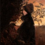 Picking Elderflowers by Rachel Personett