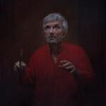 Self portrait by Oleg Radvan