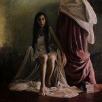 A Woman In The Shadows by Boris Correa