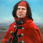 Young Man in a Red Cape by Julia Morgan Scott