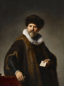 Portrait of Nicolaes Ruts - Frick Collection, New York - 1631