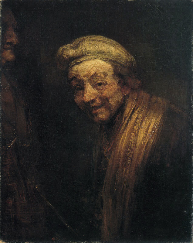 Self Portrat as Zeuxis Laughing - 1663
