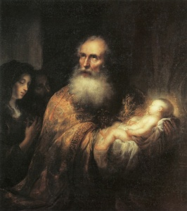 Jürgen Ovens - Simeon In The Temple - Kunsthalle, Kiel - 1651