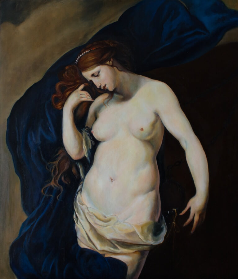 "Massimo Tizzano: ""Andromeda"" (after Furini)"