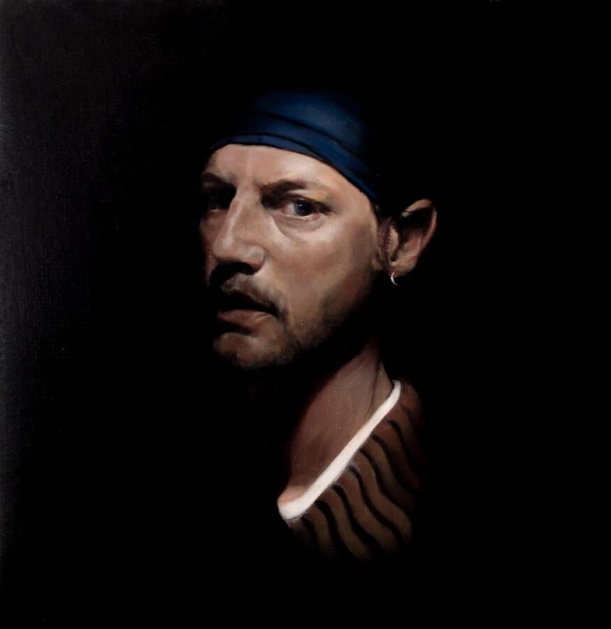 """Massimo Tizzano: """"Self Portrait as a Thief"""""""